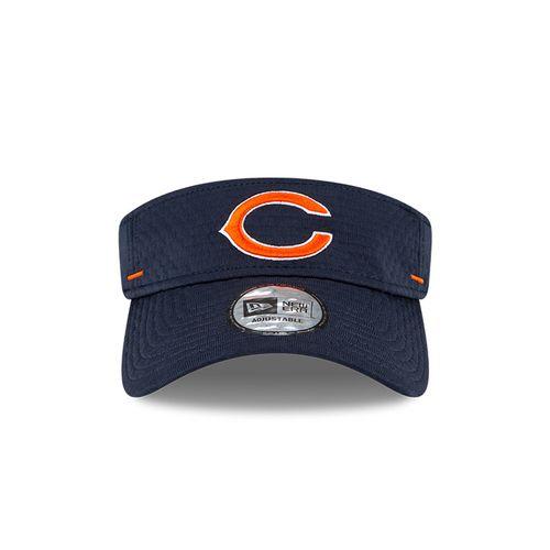 New Era Chicago Bears Training Camp Adjustable Visor (Navy)
