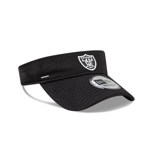 New Era Las Vegas Raiders Training Camp Adjustable Visor (Black)