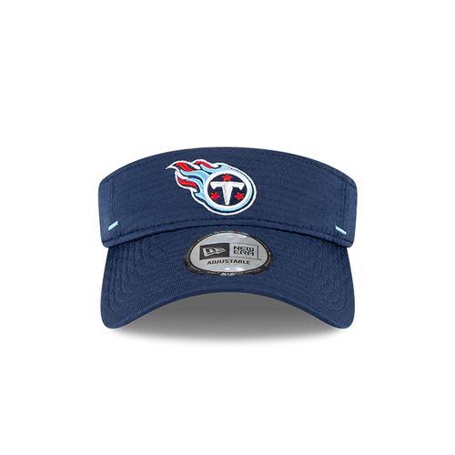 New Era Tennessee Titans Training Camp Adjustable Visor (Navy)