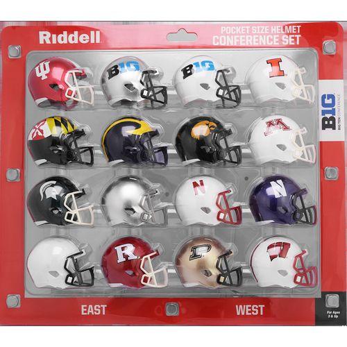 Big 10 Conference Mini Helmet Set