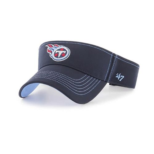 '47 Brand Tennessee Titans Defiance Adjustable Visor (Navy)