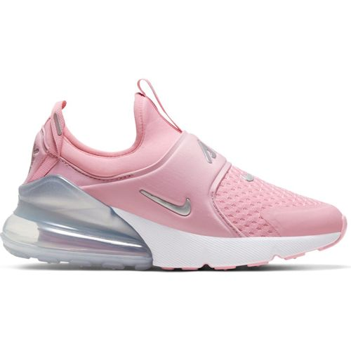 Grade School Nike Air Max 270 Extreme (Pink/Silver)