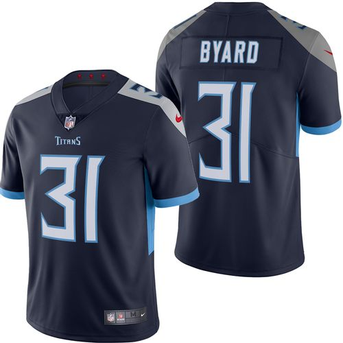 Men's Nike Tennessee Titans Kevin Byard Limited Home Jersey (Navy)