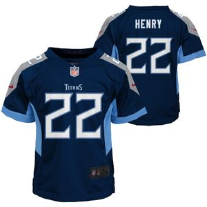 Toddler Nike Tennessee Titans Derrick Henry Game Jersey (Navy)
