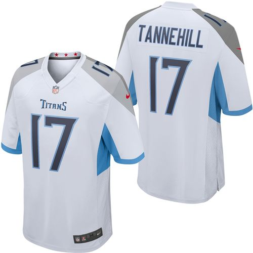 Men's Nike Tennessee Titans Ryan Tannehill Game Jersey (White)