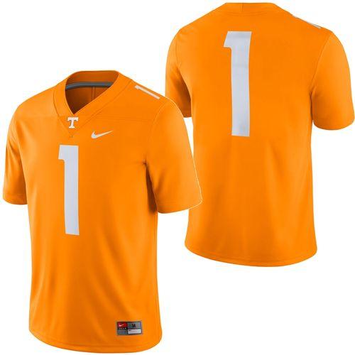 Men's Nike Tennessee Volunteers #1 Dri-FIT Game Jersey (Orange)