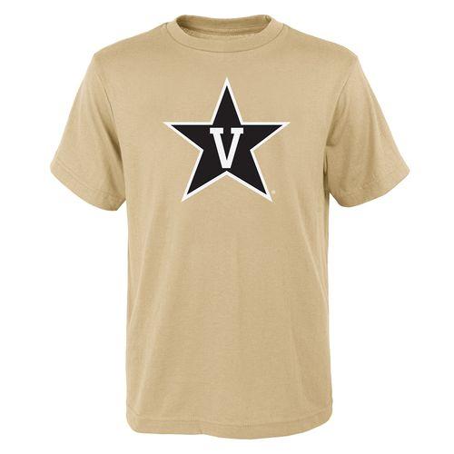 Youth Vanderbilt Commodores Primary Logo T-Shirt (Vegas Gold)