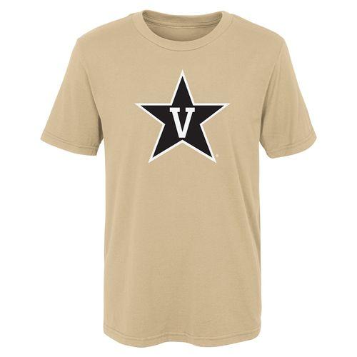 Kid's Vanderbilt Commodores Primary Logo T-Shirt (Vegas Gold)