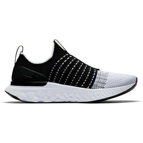 Men's Nike React Flyknit 2 (Black/White)