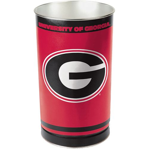 Georgia Bulldogs Tapered Trashcan