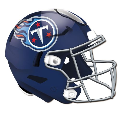 "Tennessee Titans 24"" Helmet Wood Sign"