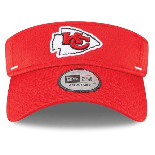 New Era Kansas City Chiefs Training Camp Adjustable Visor (Red)