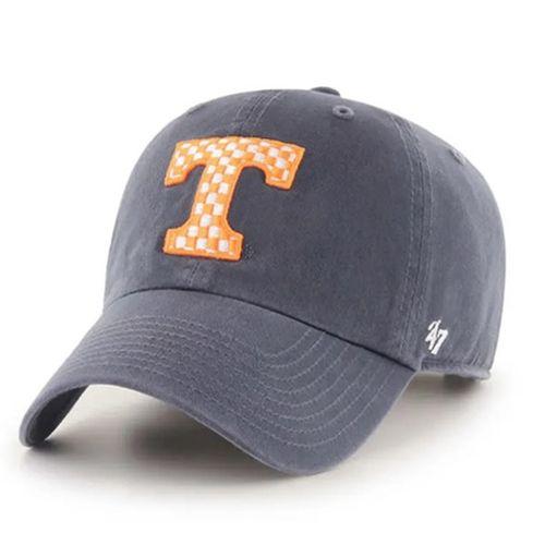 '47 Brand Tennessee Volunteers Clean Up Adjustable Hat (Navy/Orange)