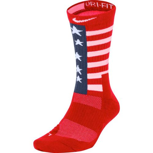Nike Team USA Elite Crew Sock (Red/Navy/White)