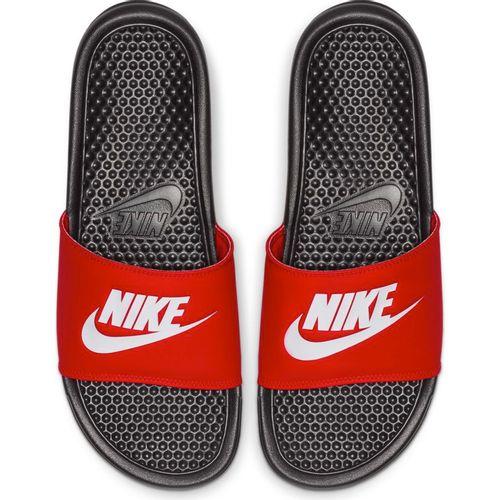 Men's Nike Benassi Just Do It Slide (Black/White)