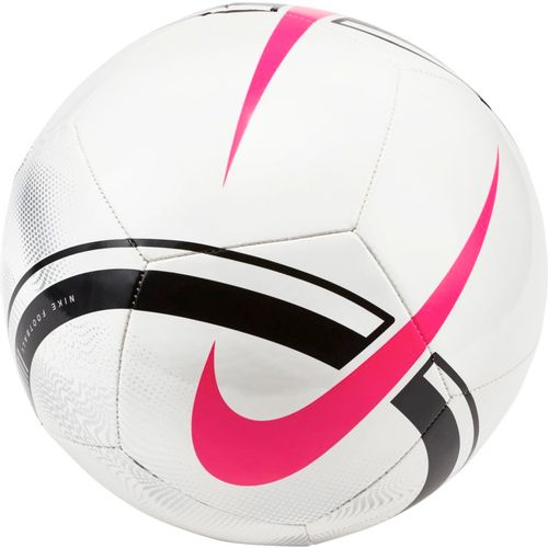 Nike Phantom Soccer Ball (White/Black/Pink)