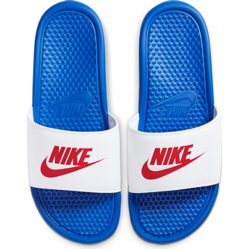 Men's Nike Benassi Just Do It Slide (Royal/Red)