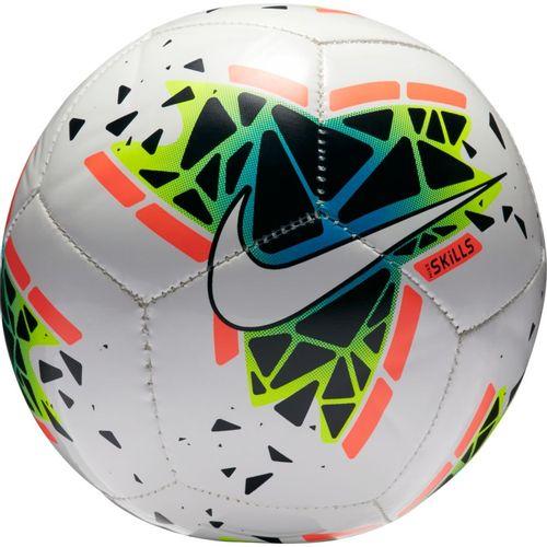 Nike Skills Soccer Ball (White/Obsidian)
