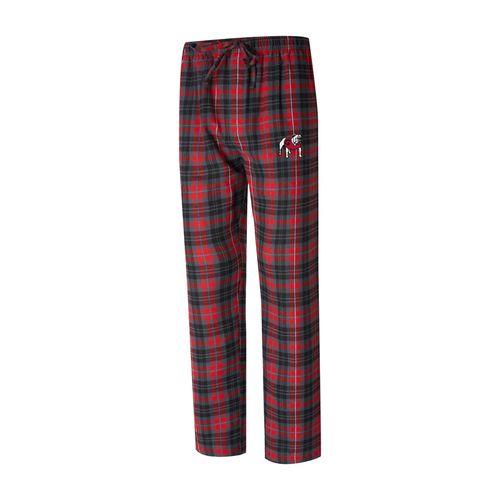 Men's Georgia Bulldogs Parkway Flannel Pants (Red/Black)
