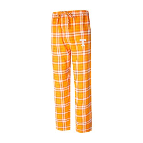 Men's Tennessee Volunteers Parkway Flannel Pants (Orange/White)