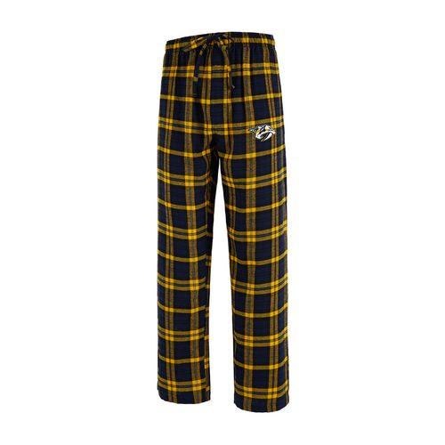 Men's Nashville Predators Parkway Flannel Pants (Navy/Gold)