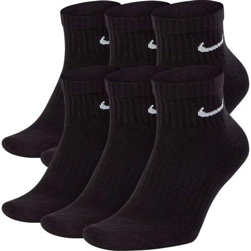 Nike Everyday Plus Cushioned Ankle Training Socks (Black/White)