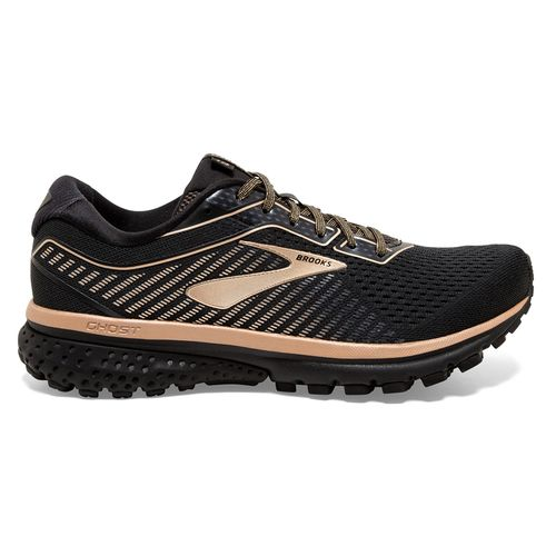 Women's Brooks Ghost 12 (Black/Ebony/Copper)