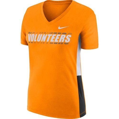 Women's Nike Tennessee Volunteers Breathe T-Shirt (Orange/White)