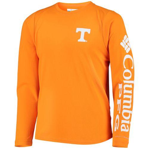 Men's Columbia Tennessee Volunteers Terminal Tackle Long Sleeved Shirt (Orange)