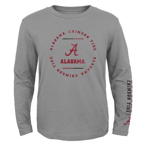 Kid's Alabama Crimson Tide Club Long Sleeve Shirt (Heather)