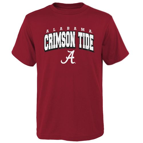 Kid's Alabama Crimson Tide Club T-Shirt (Crimson)