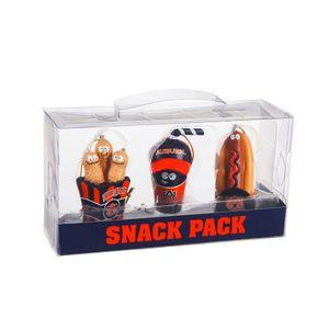 Auburn Tigers Snack Pack Ornament Set