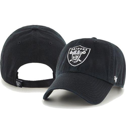 '47 Brand Las Vegas Raiders Clean Up Adjustable Hat (Black)