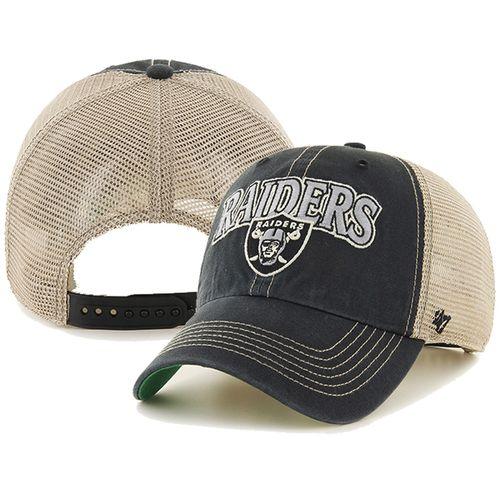 '47 Brand Las Vegas Raiders Tuscaloosa Adjustable Hat (Black)
