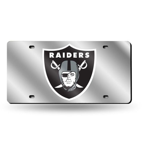 Las Vegas Raiders Logo Laser-Cut Acrylic License Plate