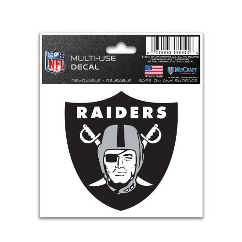 Las Vegas Raiders Logo Small Multiple Use Decal