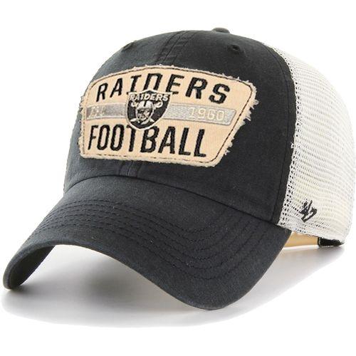 '47 Brand Las Vegas Raiders Crawford 47 Clean Up Adjustable Hat (Vintage Black)