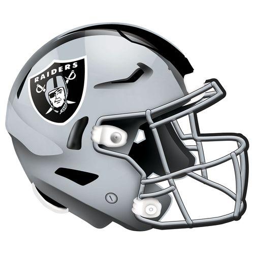 """Las Vegas Raiders 12"""" Helmet Wood Sign"""