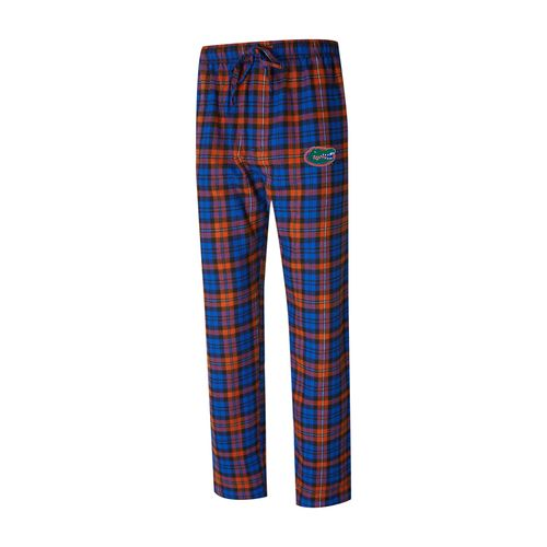 Men's Florida Gators Parkway Flannel Pants (Royal/Orange)