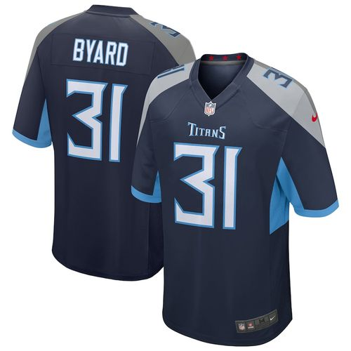 Men's Nike Tennessee Titans Kevin Byard Home Game Jersey (Navy)
