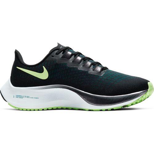 Women's Nike Air Zoom Pegasus 37 (Black/Green)