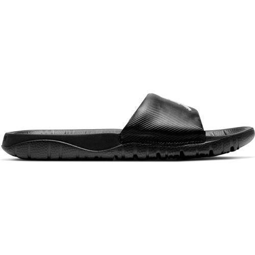 Youth Nike Jordan Break Slides (Black/White)