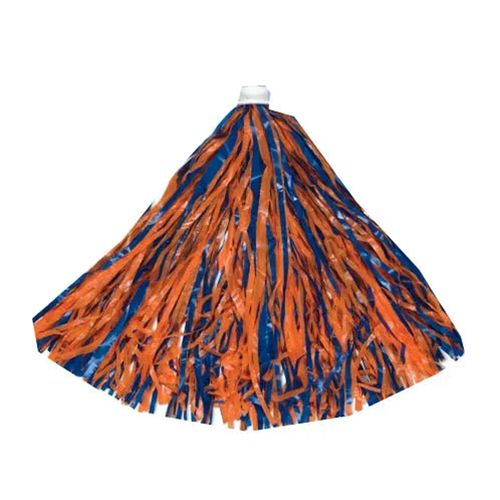 Royal and Orange Spirit Pom Pom