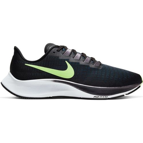 Men's Nike Air Zoom Pegasus 37 (Black/Lime)