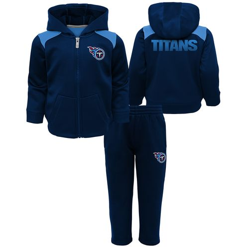 Infant Tennessee Titans Play Action Fleece Set (Navy)