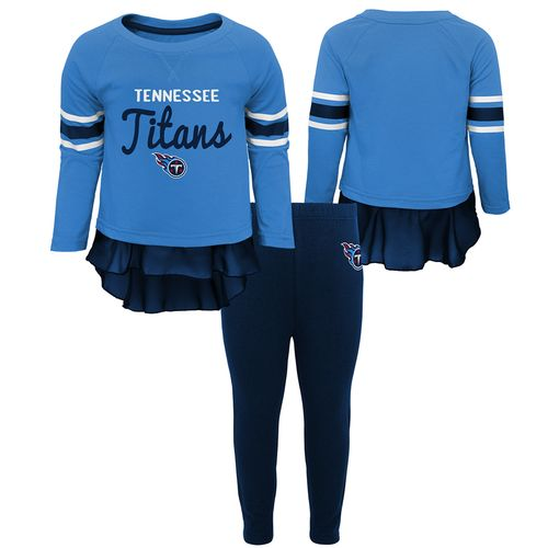 Infant Tennessee Titans Long Sleeve and Pant Set (Navy)