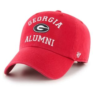 '47 Brand Georgia Bulldogs Archway Clean Up Adjustable Hat (Red)
