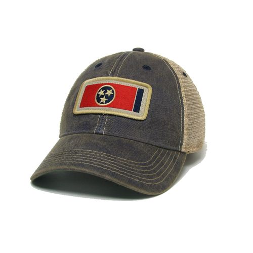 Legacy Off Road Trucker Tennessee Flag Adjustable Hat (Navy)