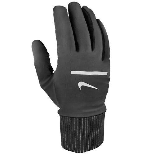Men's Nike Sphere Run Gloves (Black/Silver)
