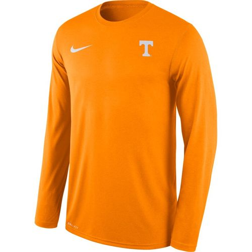 Men's Nike Tennessee Volunteers Legend Small Logo Long Sleeve Shirt (Orange)